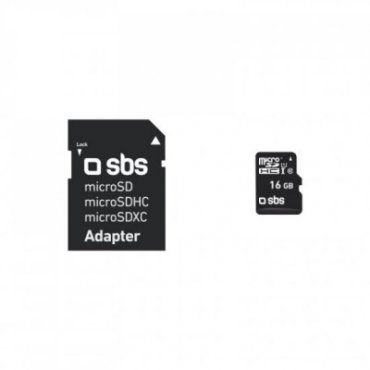 16 GB Class 10 Micro SDHC with adapter