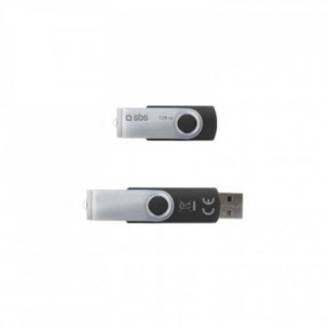 128GB Swivel USB 2.0 Flash Drive