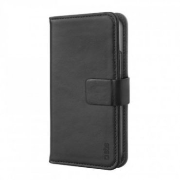 Genuine leather book case for iPhone 13