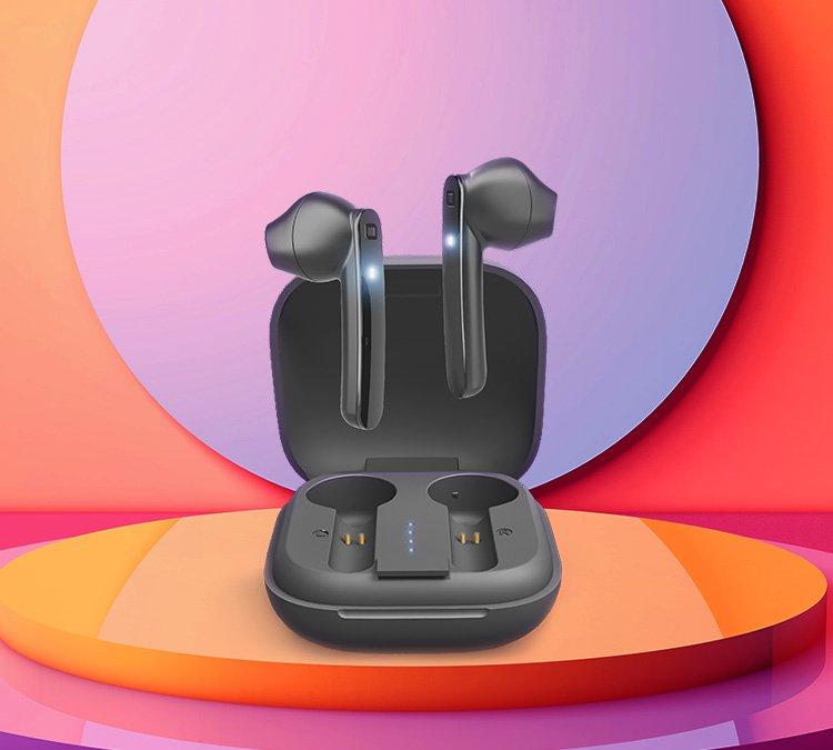 Écouteurs True Wireless Stereo antimicrobiens