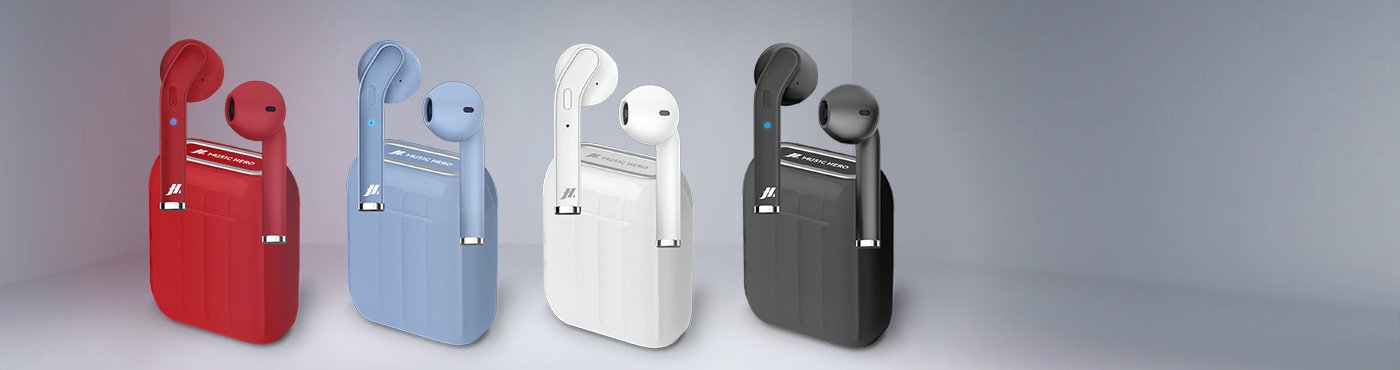 Écouteurs True Wireless Stereo