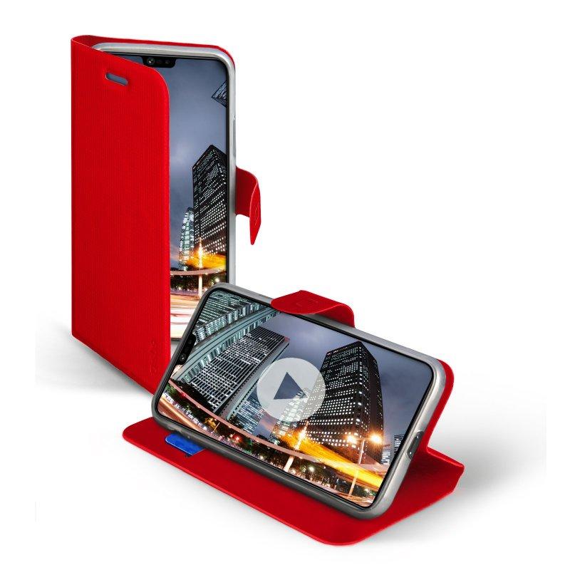 Étui livre Book Sense pour Huawei P20 Lite