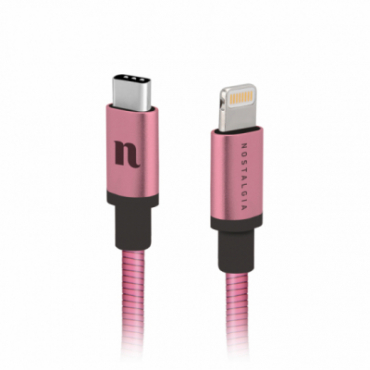 Taormina Lightning/Type-C data and charging cable