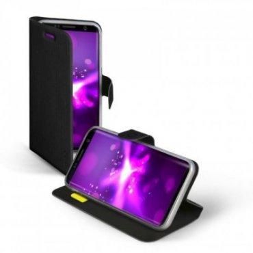 Klapphülle im Hochformat Sense für Samsung Galaxy S8+