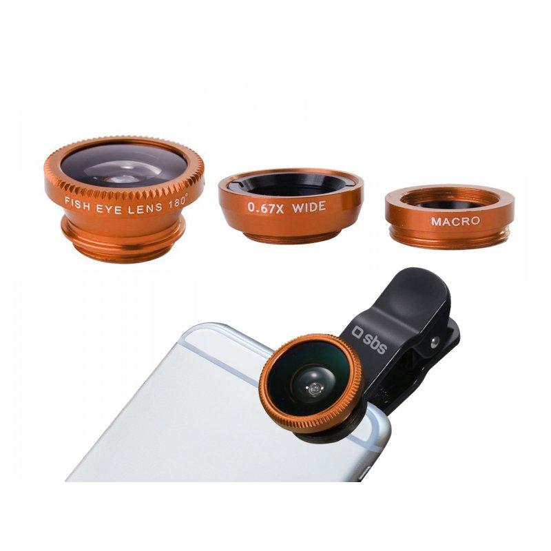 Lens Kit 3 in 1 for smartphone