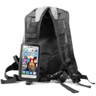 """Sports backpack with universal touchscreen case for smartphone up to 5,5\"""""""