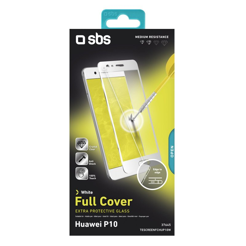 Full Cover Glass Screen Protector for Huawei P10
