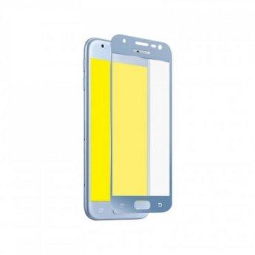 Glas Displayschutz Full Cover für Samsung Galaxy J3 2017