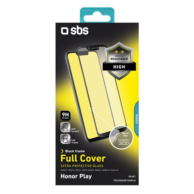 Full Cover Glass Screen Protector for Honor Play