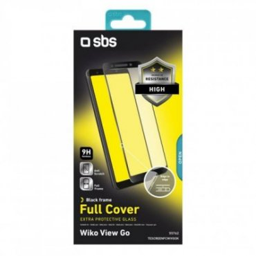 Full Cover Glass Screen Protector for Wiko View Go