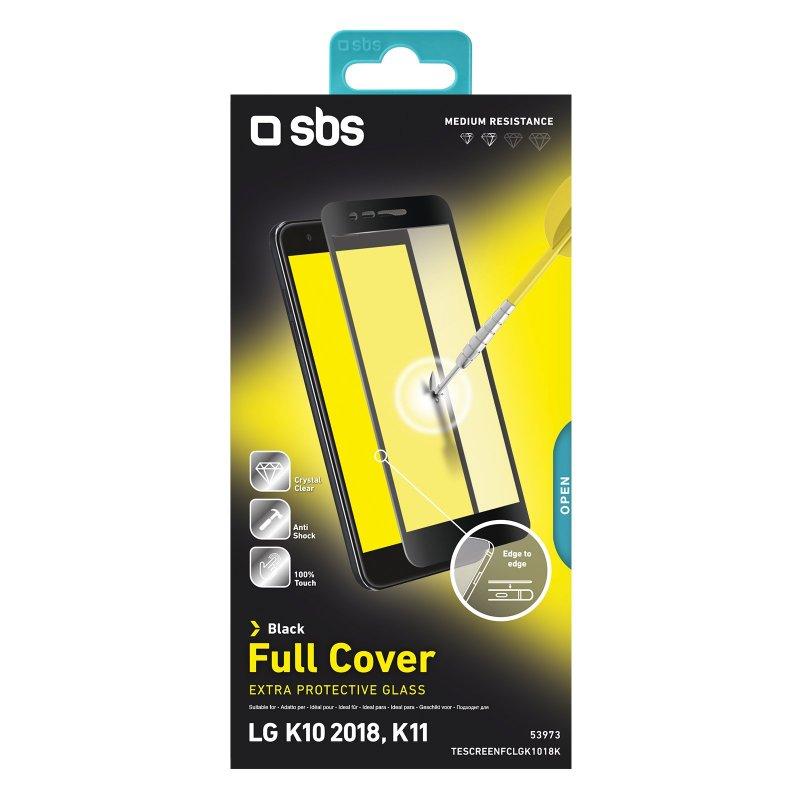 Full Cover glass screen protector for LG K10 2018/K11