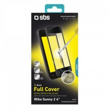 """Full Cover glass screen protector for Wiko Sunny 2 4\"""""""