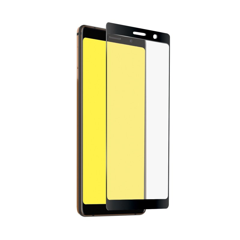Full Cover Glass Screen Protector for Nokia 7 Plus
