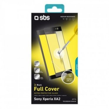 Full Cover Glass Screen Protector for Sony Xperia XA2