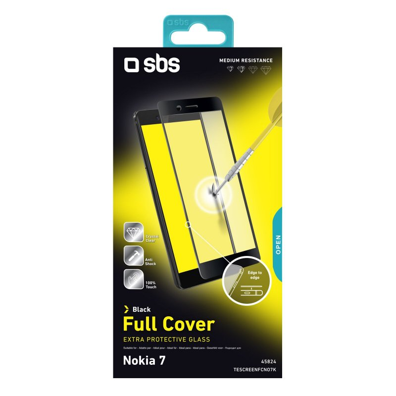 Full Cover Glass Screen Protector for Nokia 7