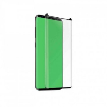 Friendly glass screen protector for the Samsung Galaxy S9