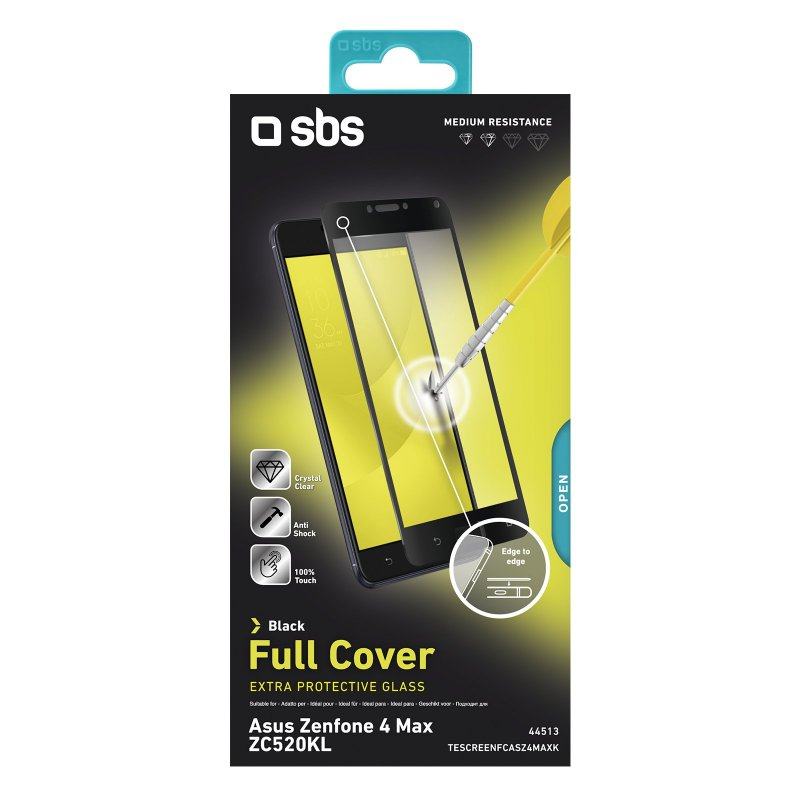 Full Cover Glass Screen Protector for Asus Zenfone 4 Max (ZC520KL)