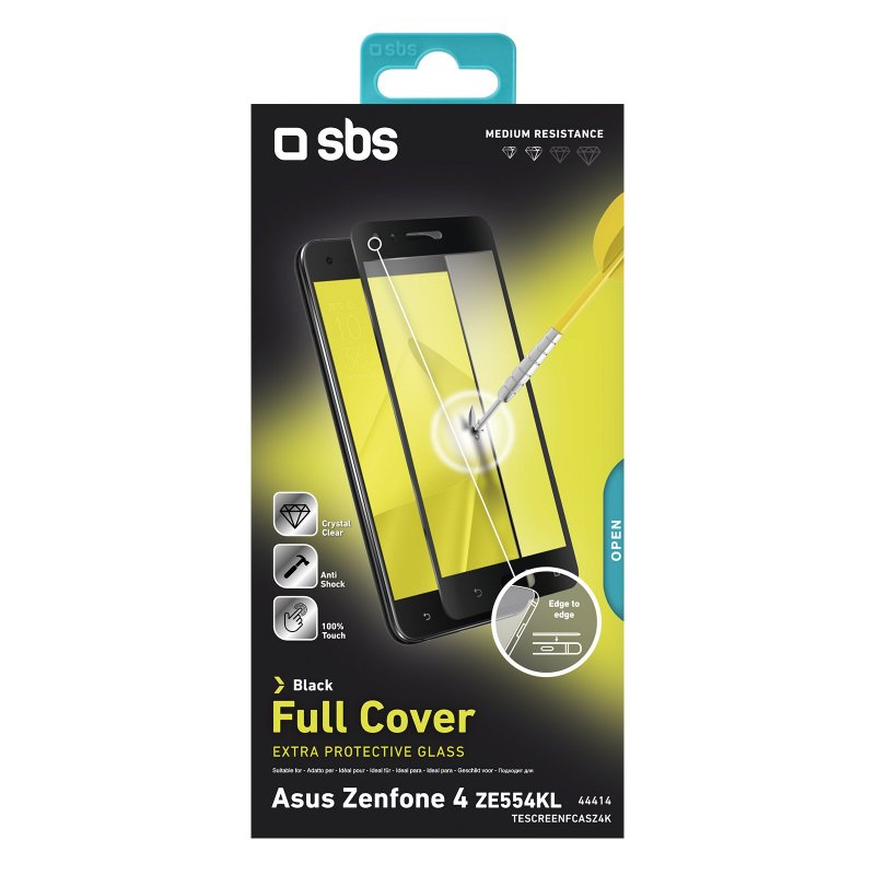 Full Cover Glass Screen Protector for Asus Zenfone 4 (ZE554KL)