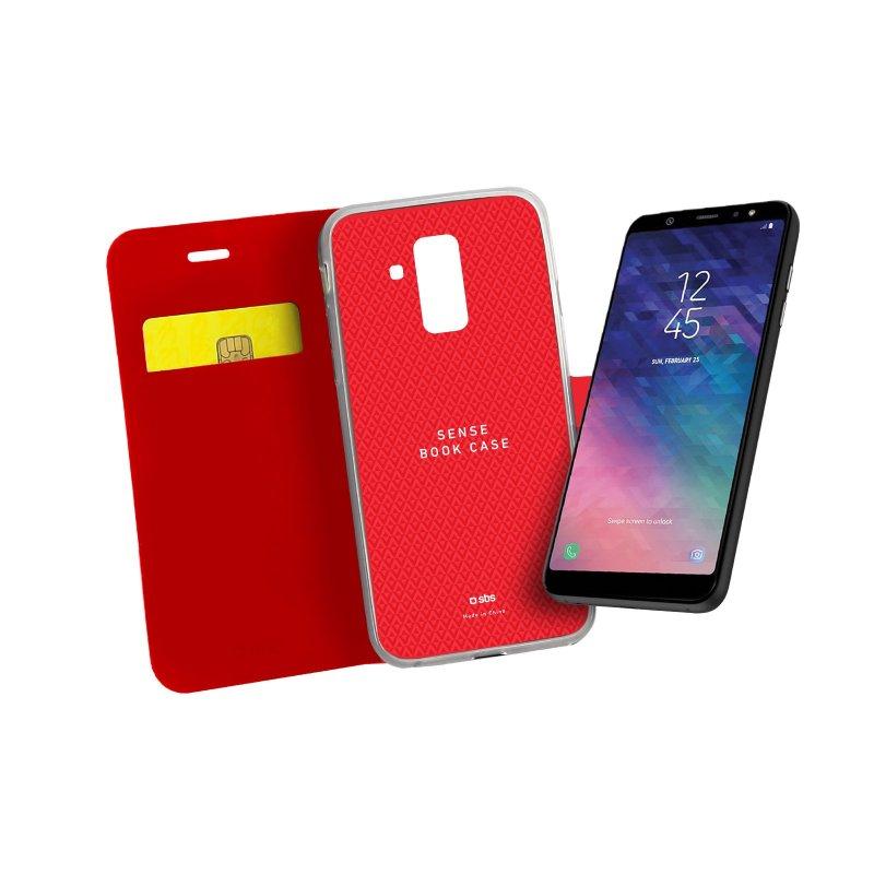 Samsung Galaxy A6+ Book Sense case
