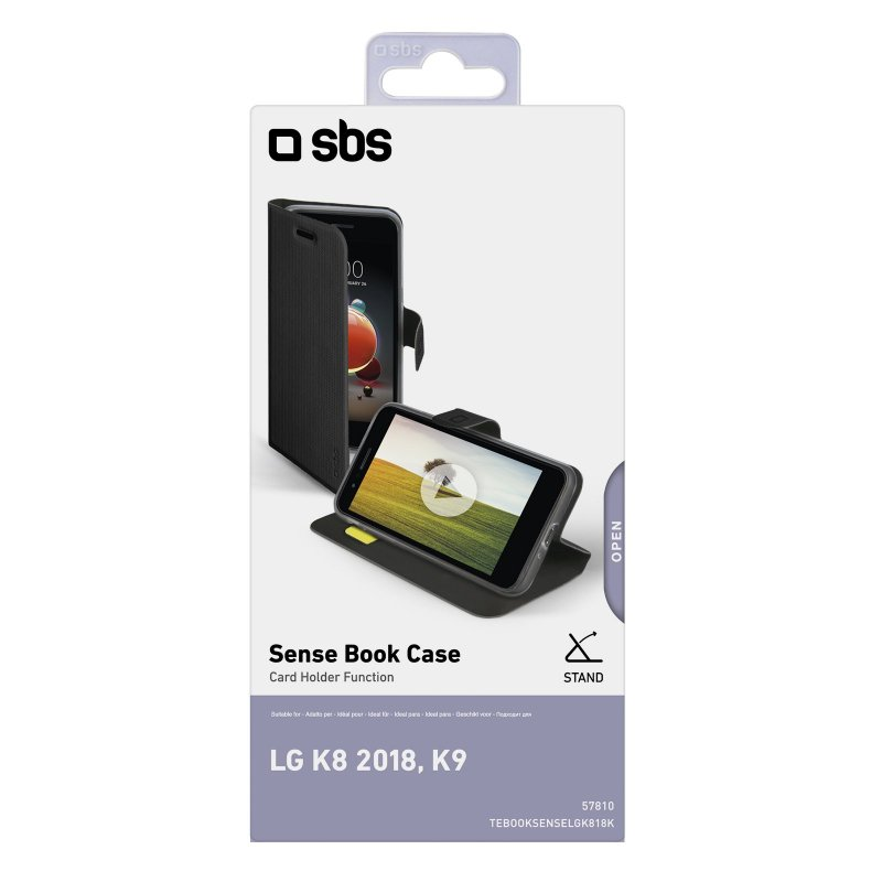 LG K8 2018/K9 Book Sense case