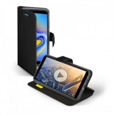 Étui livre Book Sense pour Samsung Galaxy J6+