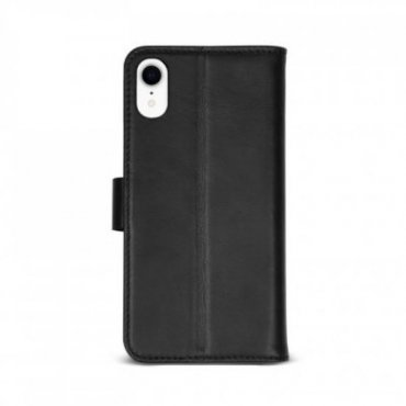 Genuine leather book case for iPhone XR