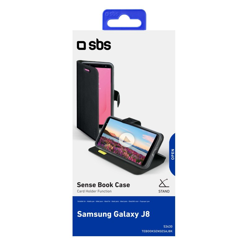 Samsung Galaxy J8 Book Sense case