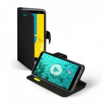 Handyhülle Book Sense für Samsung Galaxy J6