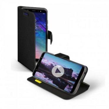 Handyhülle Book Sense für Samsung Galaxy A6+