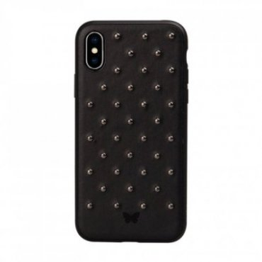 Studded cover with studs for iPhone XS/X