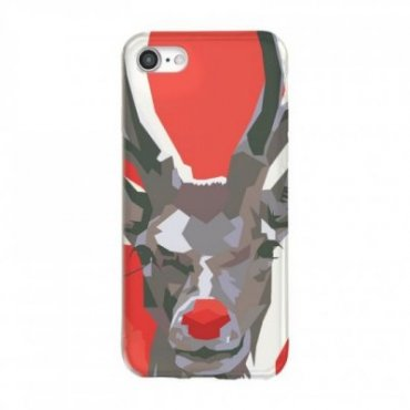 Christmas reindeer cover for iPhone 8/7/6S/6