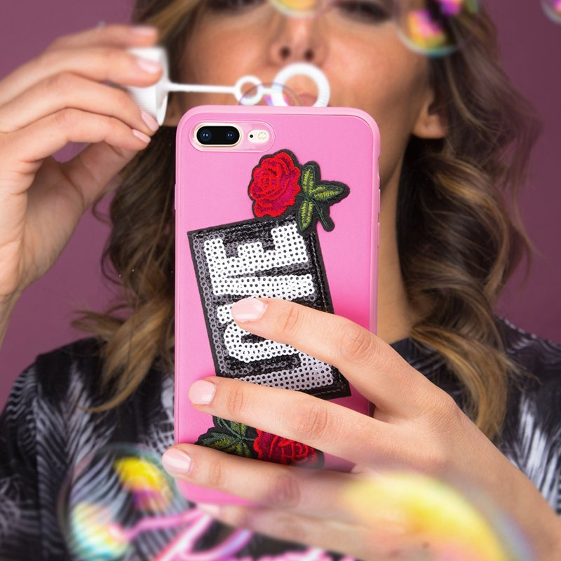 Cover with Love patch for iPhone 8 Plus/7 Plus