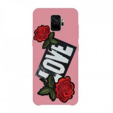Cover con patch Love per...