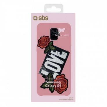 Cover with Love patch for Samsung Galaxy S9