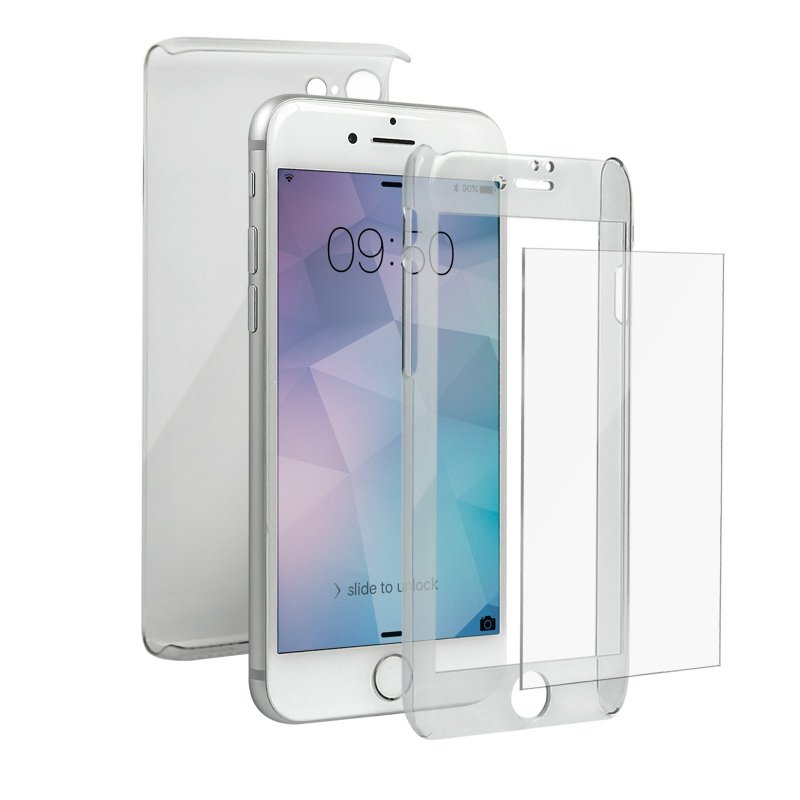 Cover Crystal 360° per iPhone 8 / 7