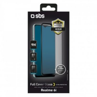 Full Cover Glass Screen Protector for Realme 6i