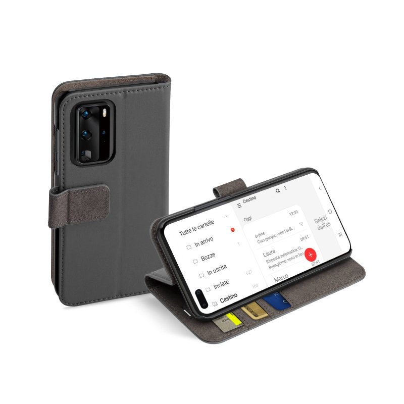 Book Wallet Case with stand function for Huawei P40 Pro+