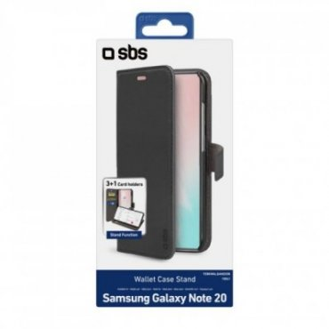 Book Wallet Case with stand function for Samsung Galaxy Note 20