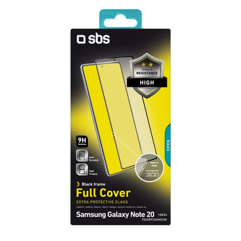 Full Cover Glass Screen Protector for Samsung Galaxy Note 20