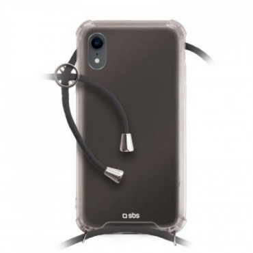 School cover with neck strap for iPhone XR