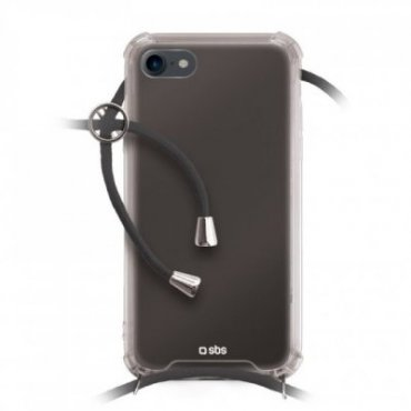 School cover with neck strap for iPhone SE 2020/8/7
