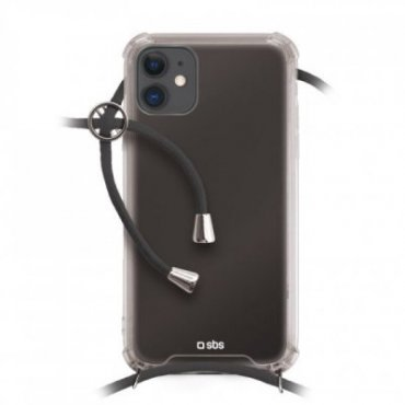 School cover with neck strap for iPhone 11