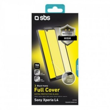 Full Cover Glass Screen Protector for Sony Xperia L4