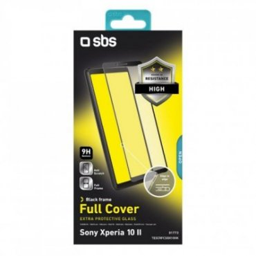 Full Cover Glass Screen Protector for Sony Xperia 10 II