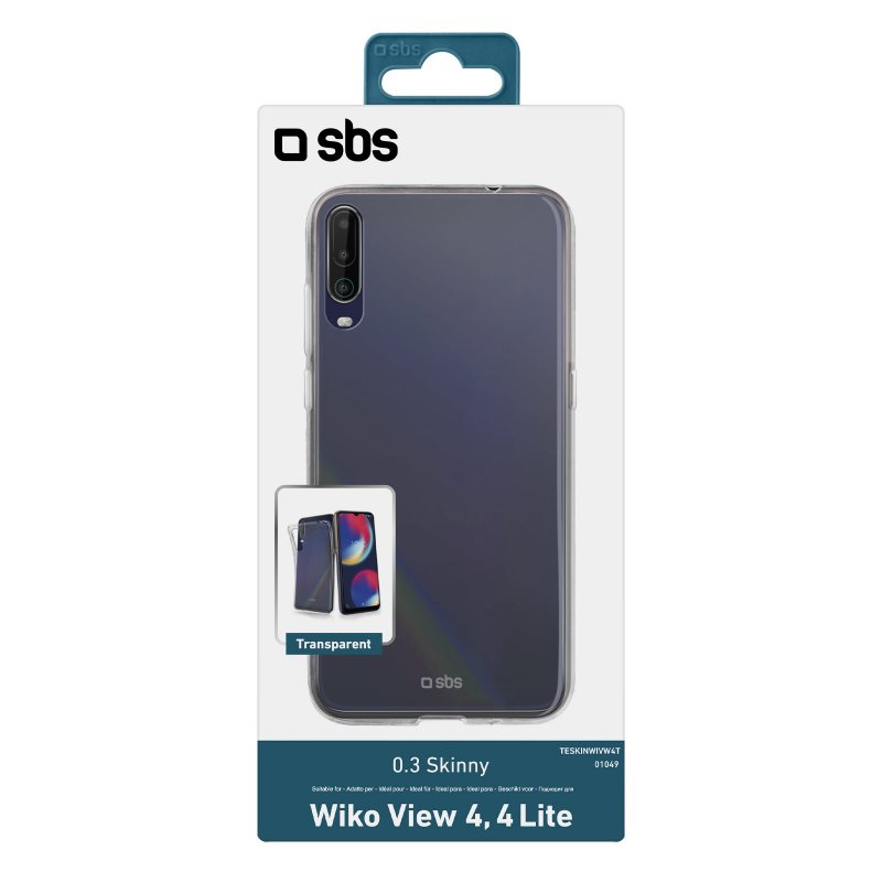 Skinny cover for Wiko View 4/4 Lite