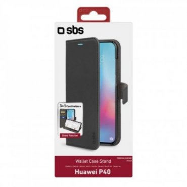 Book Wallet Case with stand function for Huawei P40