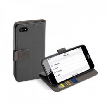 Book Wallet Case with stand function for iPhone SE/5S/5