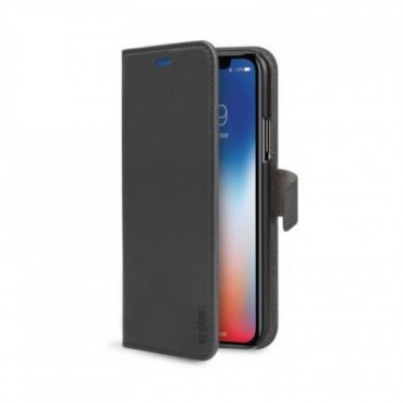 Book Wallet Case with stand function for iPhone XS/X