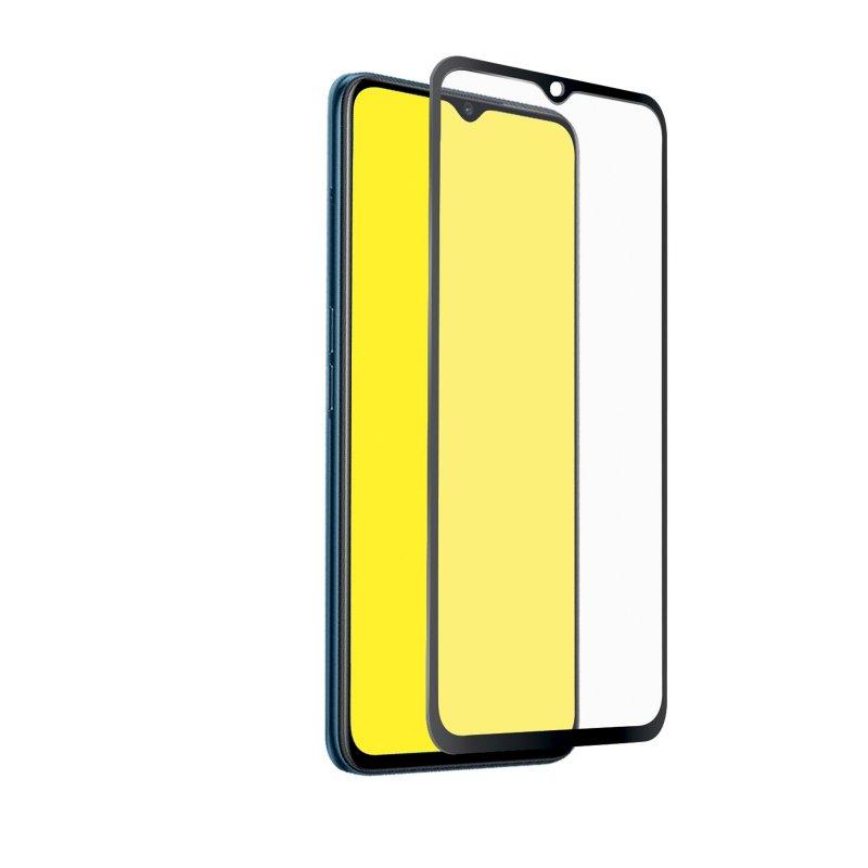 Sin Burbujas HD Transparente Anti-Ara/ñazos Cristal Templado 3 Piezas QHOHQ Protector de Pantalla para OPPO A5 2020//OPPO A9 2020, Dureza 9H