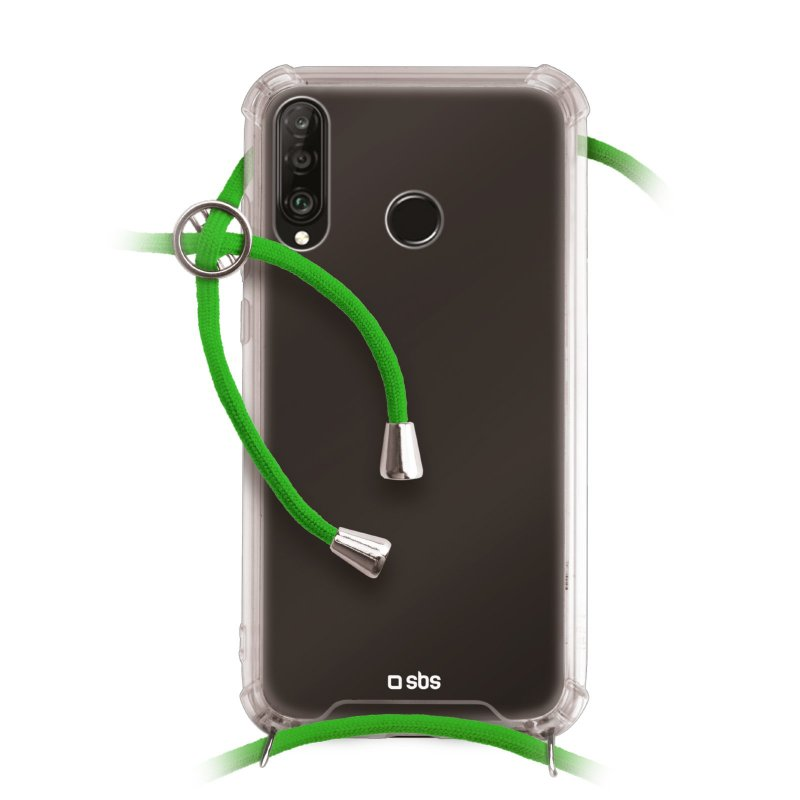 School cover with neck strap for Huawei P30 Lite